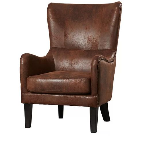 Tribal Leather Club Chair [QTY 3]