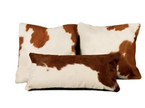 Cowhide Pillow Trio[QTY 1, Set of 3]