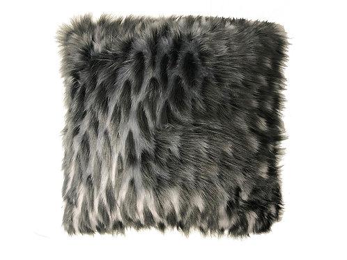 "Grey Fur Pillow [QTY 4, 22"" x 22""]"