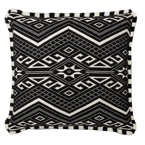 "Jacquard Black Pillow [QTY 6, 26"" x 26""]"