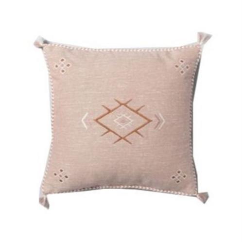 """Pink Southwestern Pillow [QTY 4, 18"""" x 18""""]"""