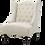 """Thumbnail: Rio Club Chair [QTY 2, 28""""L x 24""""W x 39""""H, Shown with the Rio Tufted Ottoman]"""
