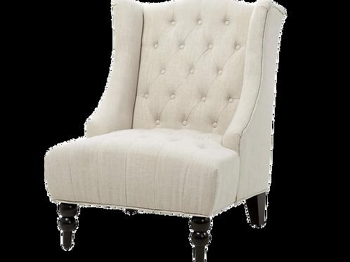 """Rio Club Chair [QTY 2, 28""""L x 24""""W x 39""""H, Shown with the Rio Tufted Ottoman]"""