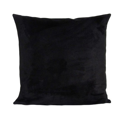 Black Suede Pillow [QTY 6]