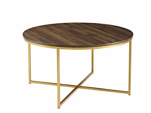 "Classic X Base Coffee Table [QTY 4, 19""H x 35.5""W x 35.5""D]"