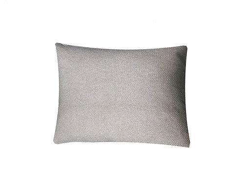 "White Mesh Lumbar Pillow [QTY 2, 16"" x 12""]"