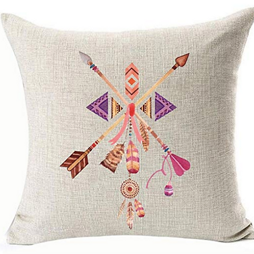"""Tribal Colorful Pillow [QTY 4, 18"""" x 18""""]"""