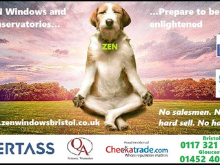 ZEN. Double glazing and conservatories in Bristol, Gloucester and beyond. Prepare to be enlightened.