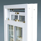 Double glazed vertical sliding sash window
