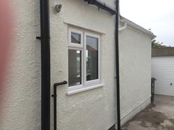 Kitchen, white PVCU window, Bristol