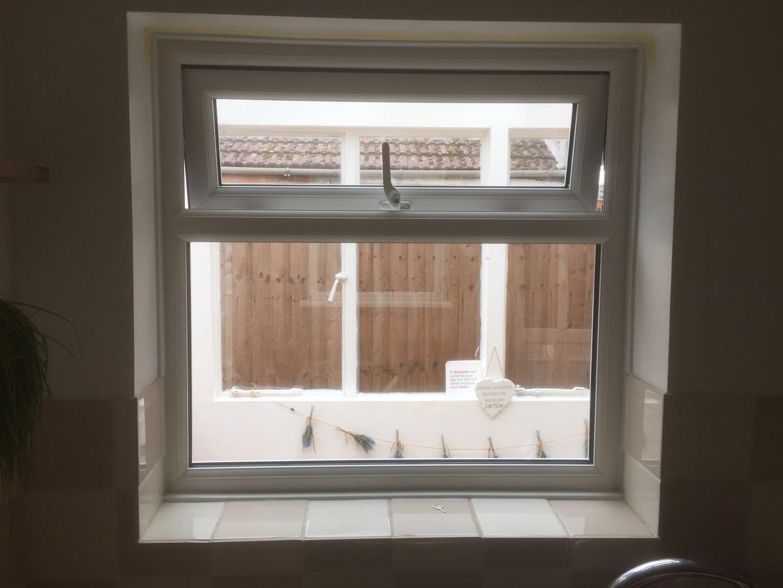 New kitchen window, Gloucester.