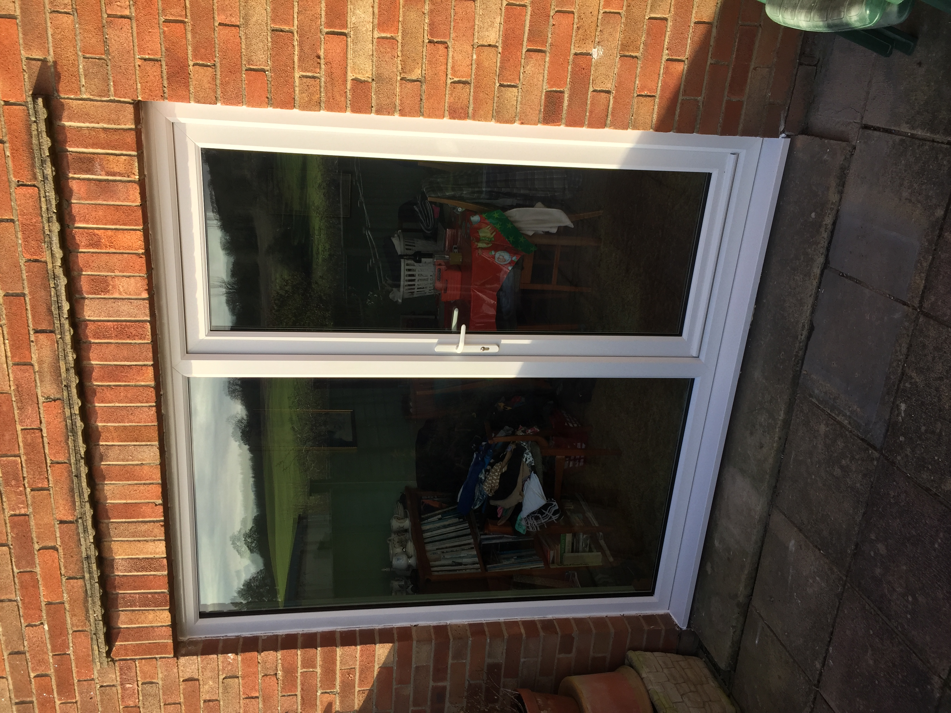 Double glazed door / side panel