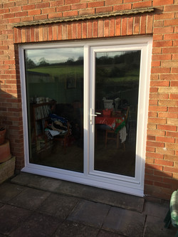 Double glazed door / side panel