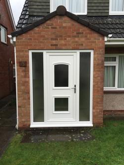 New front door and windows
