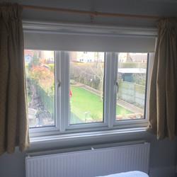 Freshly installed window, Stonehouse