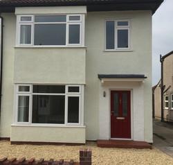 New windows and red composite door