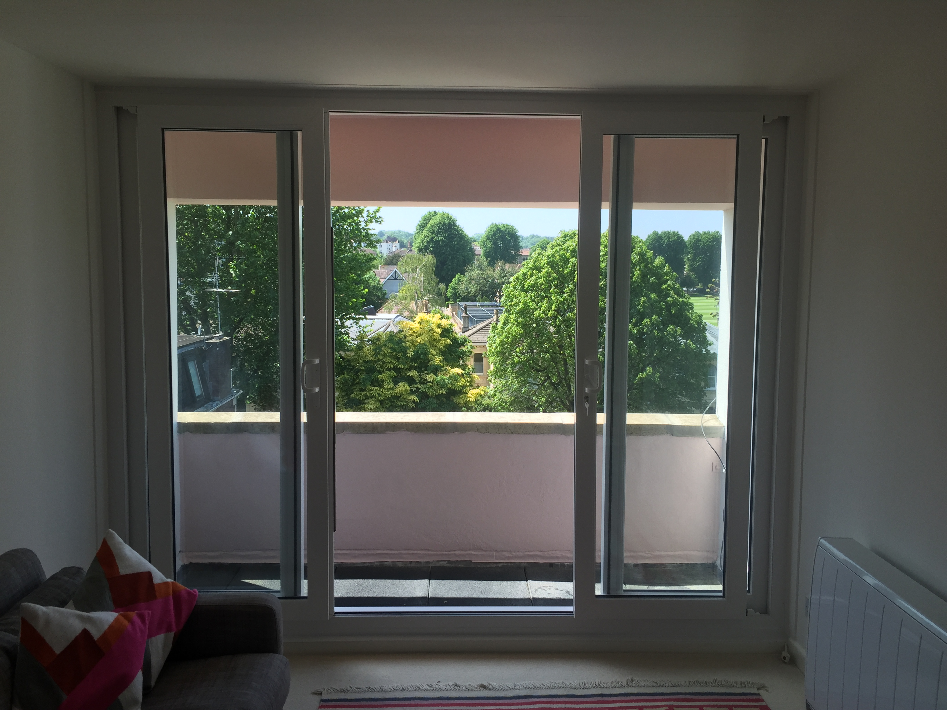 New patio doors, Clifton, Bristol