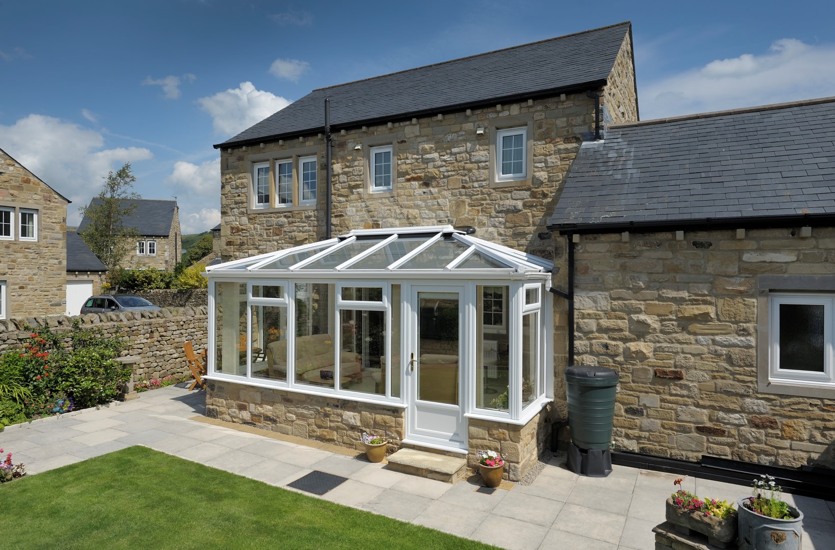 Ultraframe roof, Pilkington Activ