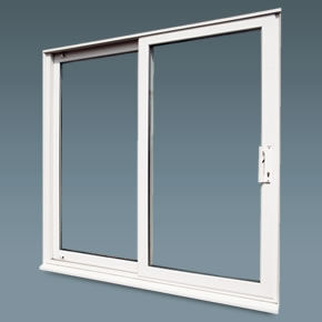 Double glazed sliding patio door