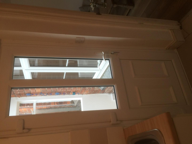 New double glazed back door