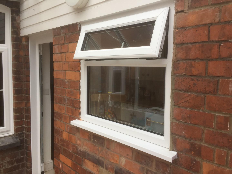 PVCU kitchen window, Gloucester.