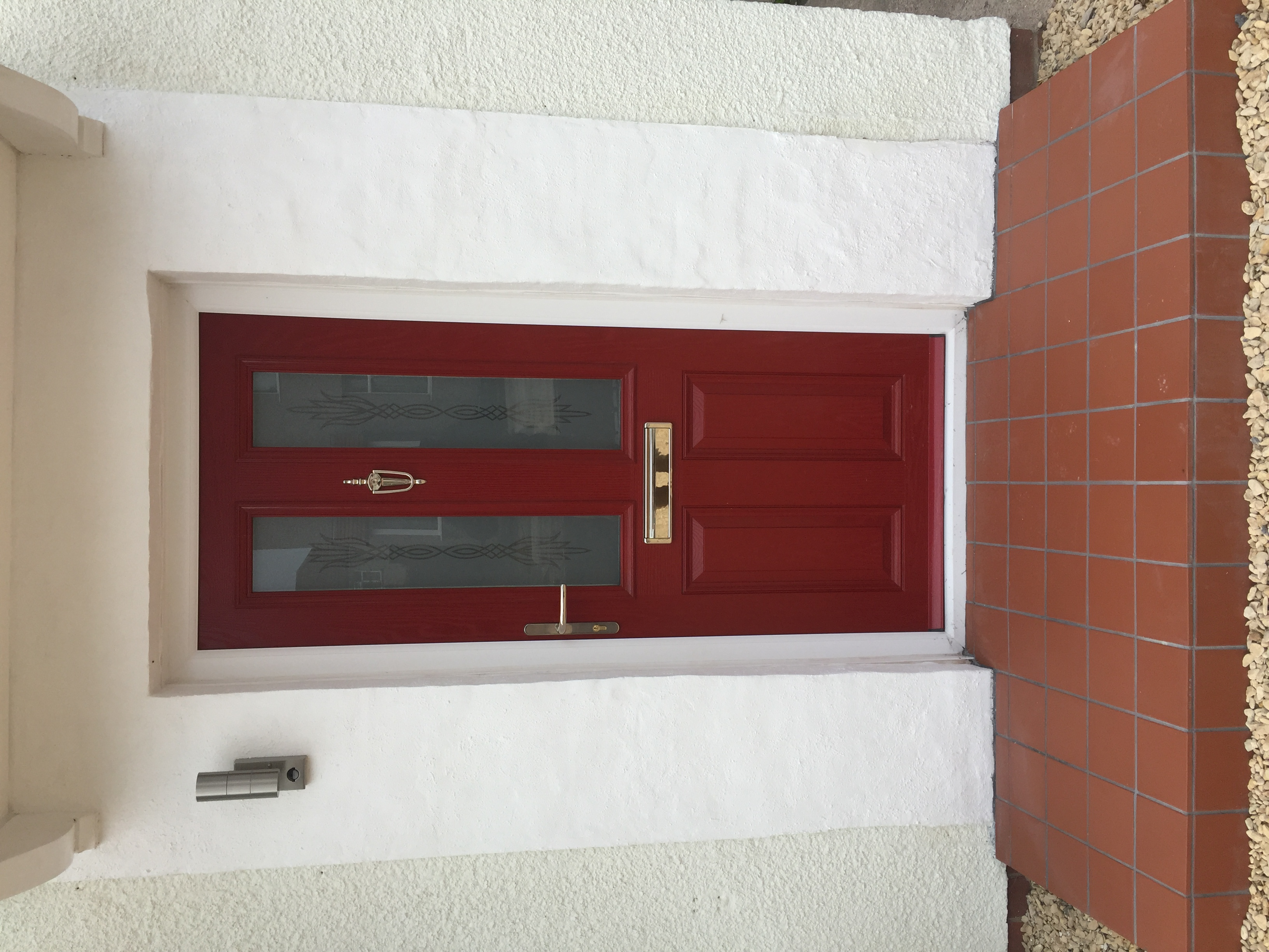 Red compsosite front door, Bristol