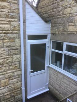 Front porch left elevation