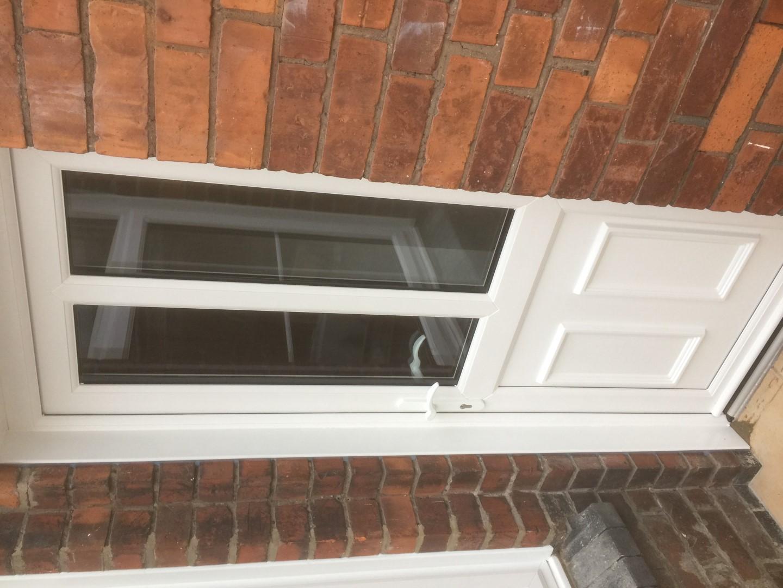 UPVC back door, Gloucester