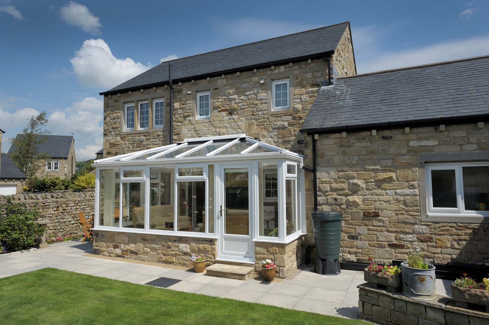 Double Edwardian, glass roof