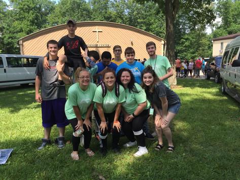 Camp Crestwood Crew 2016