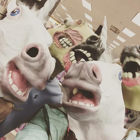 Unicorns & Zombie Horses