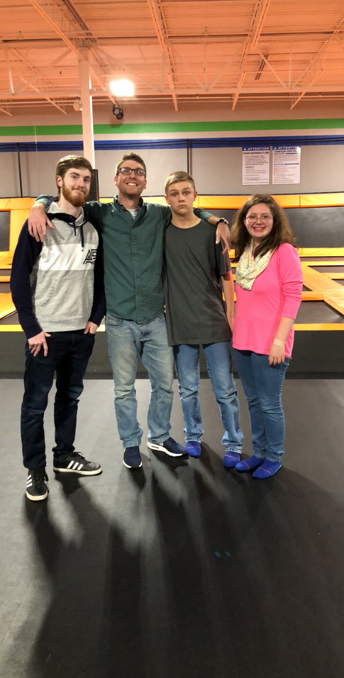 Trampoline Night 2018-Vertical Jump in Paducah and Shopping