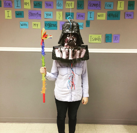 Luke, I am your Father--and my head is full of candy