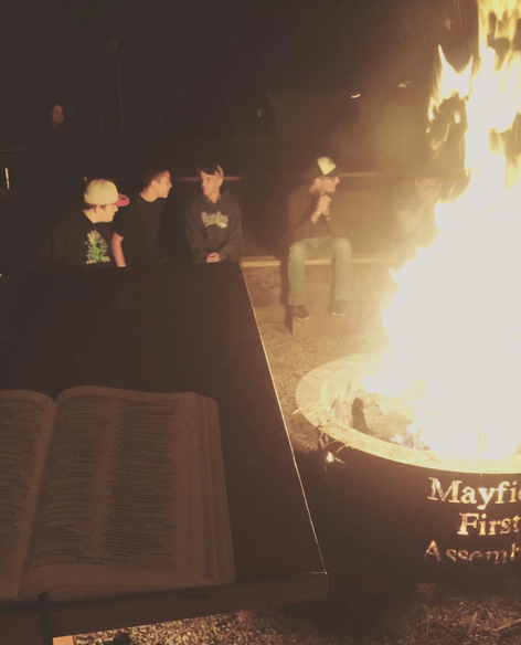 Sermon by the fire