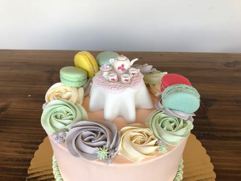 Tea Party Cake, 2019