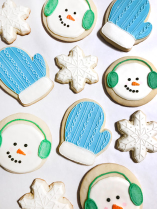 Winter 2020 Royal Icing Cookies