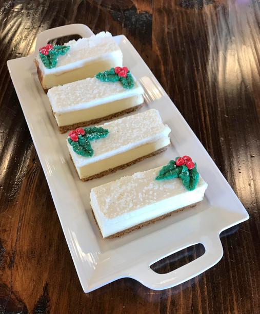 Christmas Cheesecake Slices, 2019.JPG