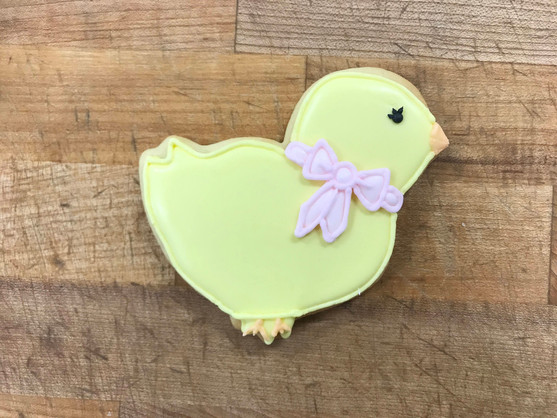 Easter Chick Cookie, 2019.JPG