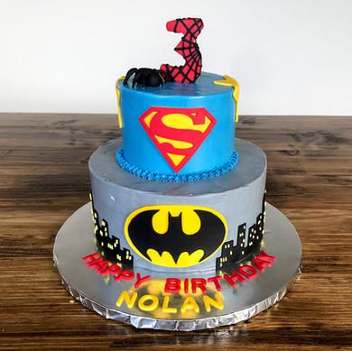 Superhero Cake, 2019