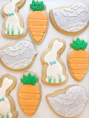 Easter Royal Icing Sugar Cookies