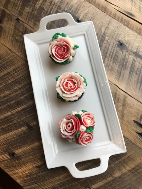 Rose Cupcakes, 2019