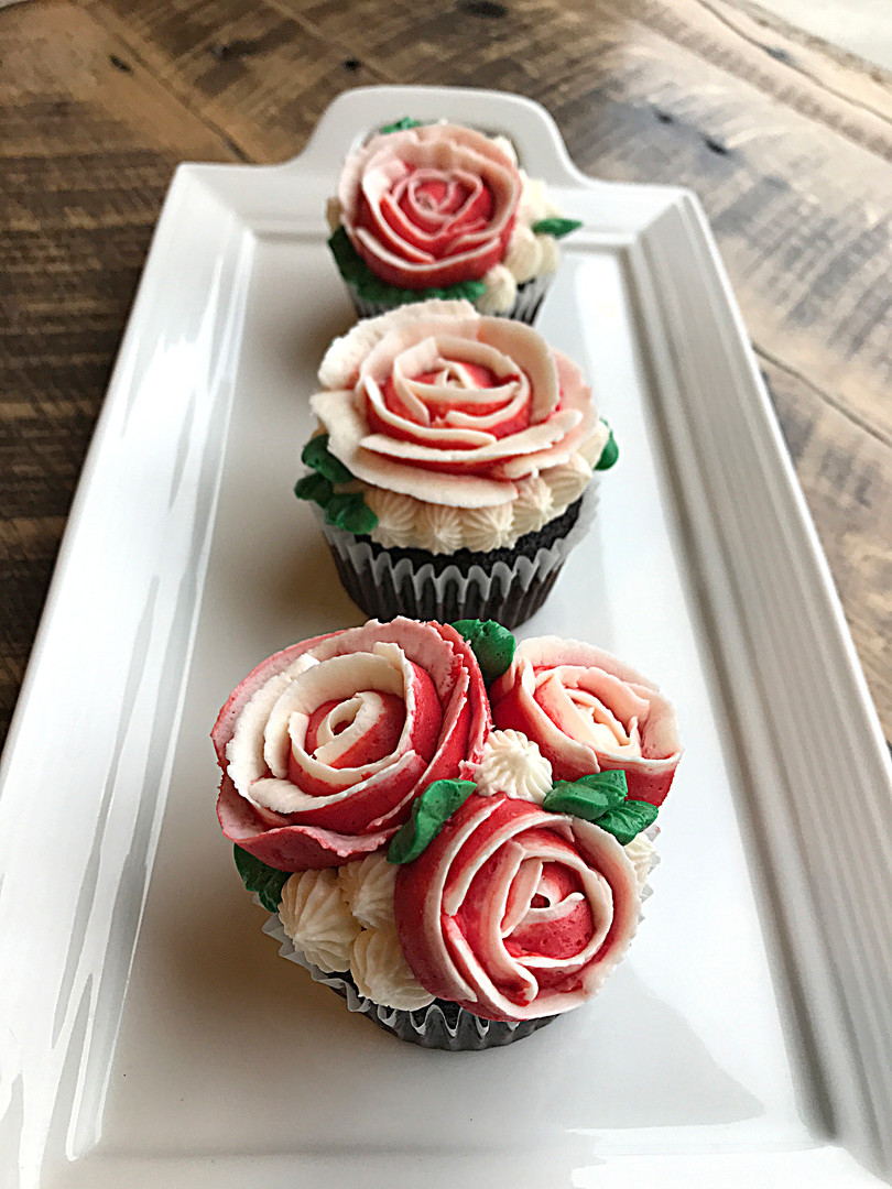 Rose Cupcakes, 2020