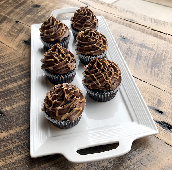 Peanut Butter and Chocolate Cupcakes, 20
