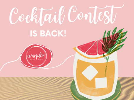 Long Weekend Cocktail Contest 🍸