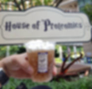 Picture of butterbeer with whipcream