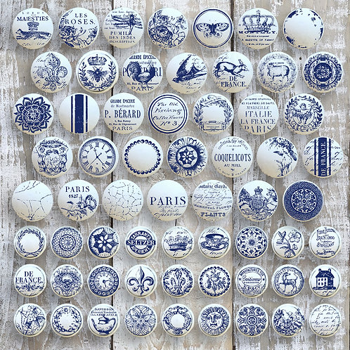 Knob Toppers 12x12 Decor Stamp