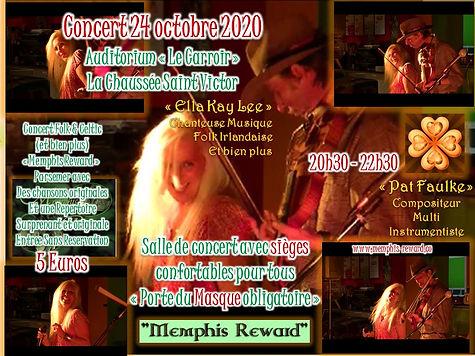 Affiche Memphis reward, La Chaussee 24 o