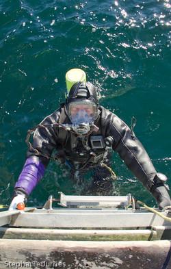 Geoduck Diver