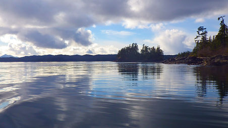 Islands and ocean scenery, Prince of Wales Island Alaska