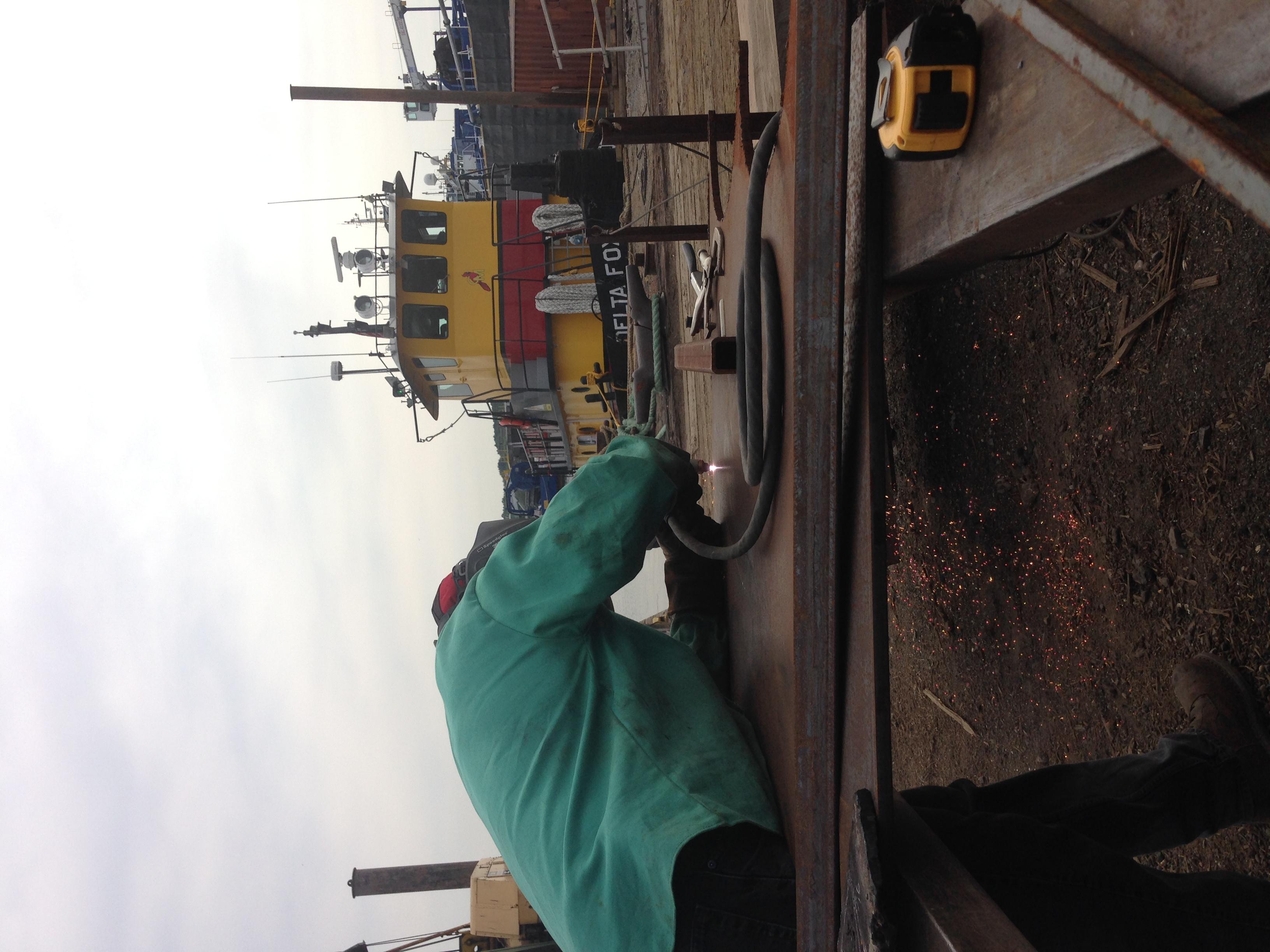 tug boat repair